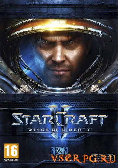 Постер игры StarCraft 2 Wings of Liberty