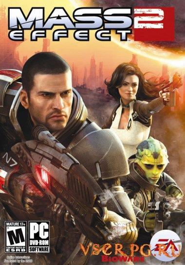 Постер игры Mass Effect 2