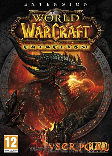 Постер World of Warcraft Cataclysm