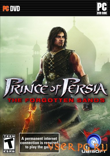 Постер игры Prince of Persia: The Forgotten Sands