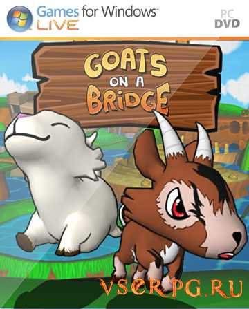 Постер игры Goats On A Bridge