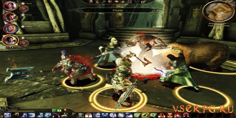 Dragon Age Origins Awakening screen 3