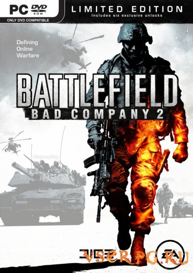 Постер игры Battlefield Bad Company 2