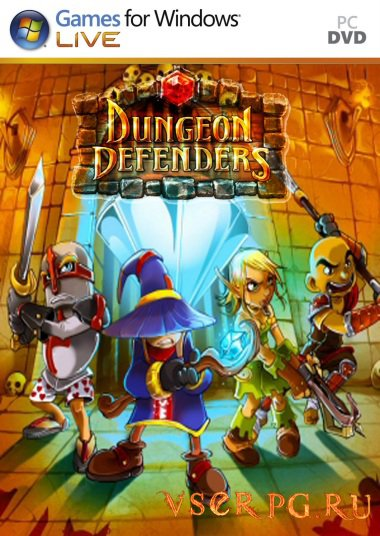 Постер игры Dungeon Defenders