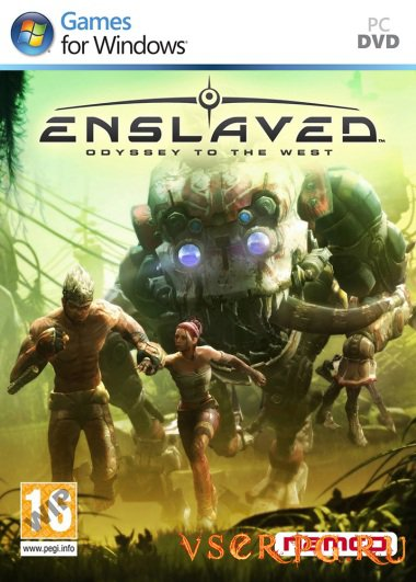 Постер Enslaved Odyssey to the West