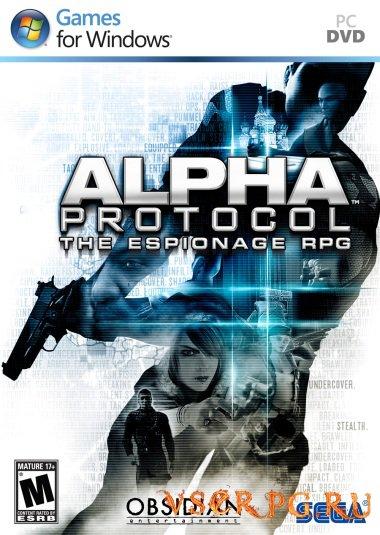 Постер игры Alpha Protocol