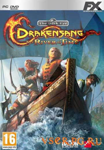 Постер игры Drakensang The River Of Time