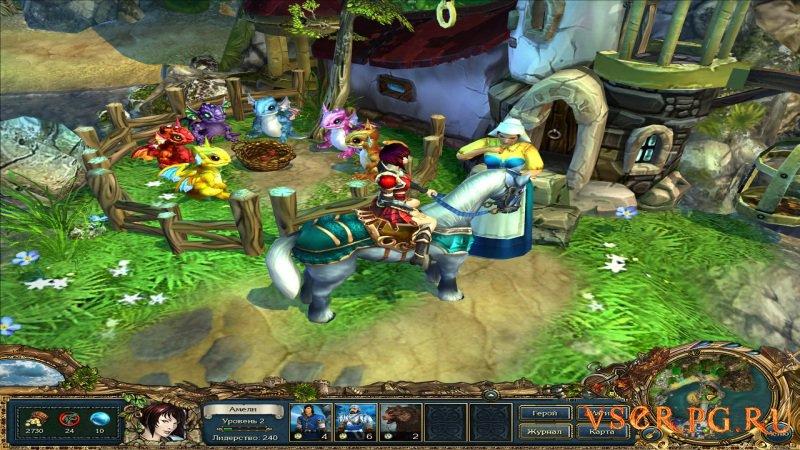 Kings Bounty: Принцесса в доспехах screen 2