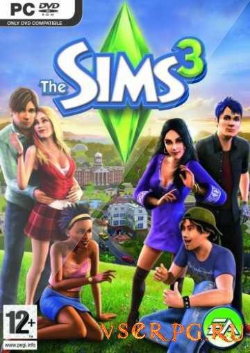 Постер игры Симс 3