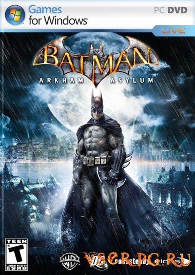 Постер игры Batman Arkham Asylum