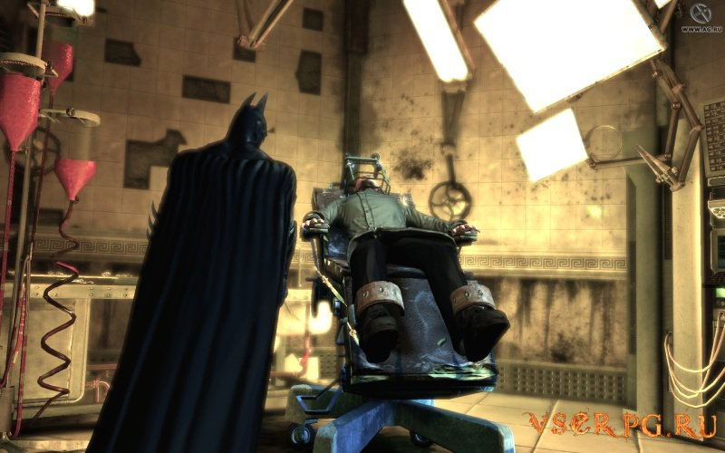 Batman Arkham Asylum screen 1