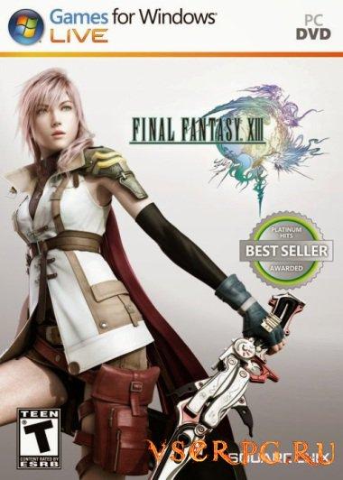 Постер игры Final Fantasy XIII