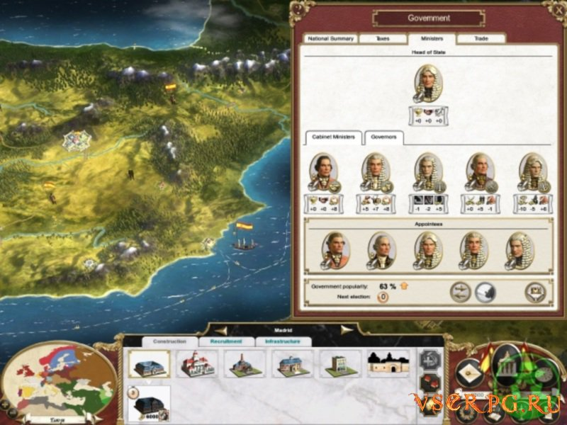 Empire Total War screen 2