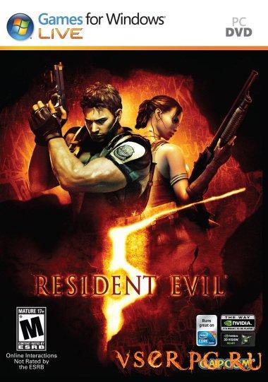 Постер игры Resident Evil 5