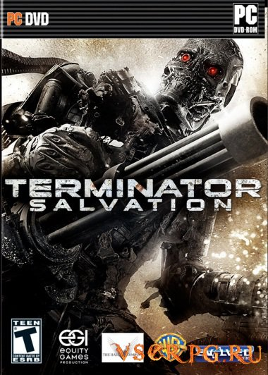 Постер игры Terminator Salvation