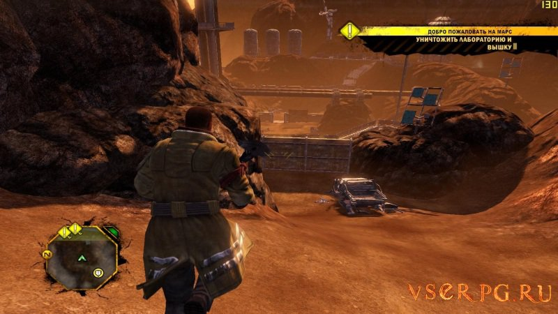 Red Faction Guerrilla screen 1