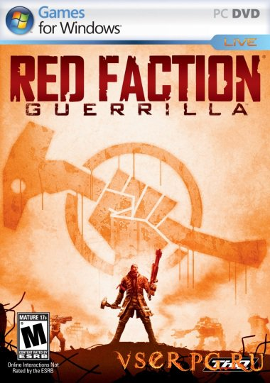 Постер игры Red Faction Guerrilla