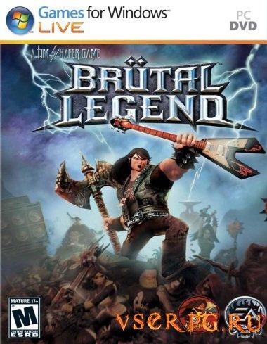Постер игры Brutal Legend