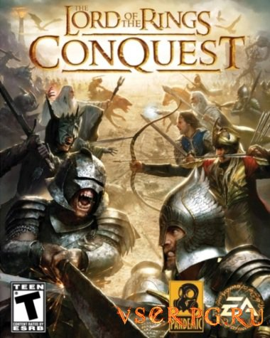 Постер игры The Lord of the Rings: Conquest