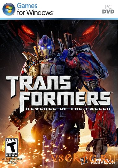 Постер игры Трансформеры: Месть Падших