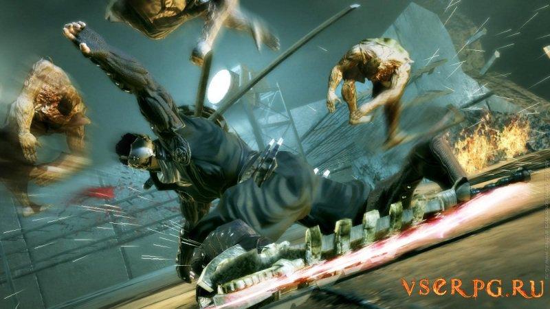 Ninja Blade screen 1