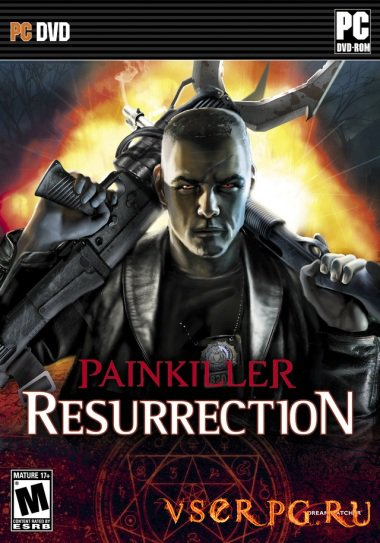 Постер игры Painkiller Resurrection