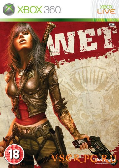 Постер игры WET