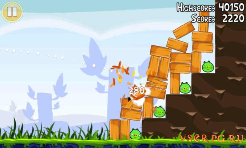 Angry Birds screen 2