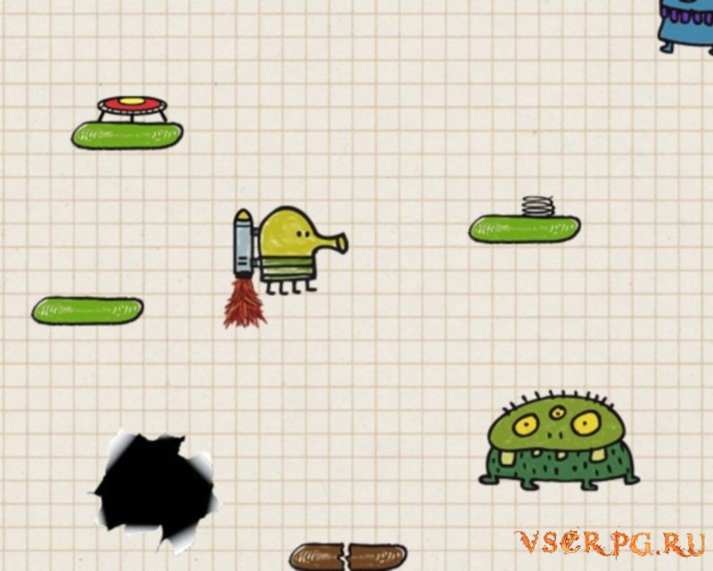 Doodle Jump для Android screen 3