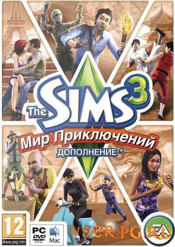 Постер игры Симс 3: Мир Приключений
