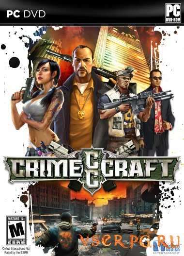 Постер игры CrimeCraft