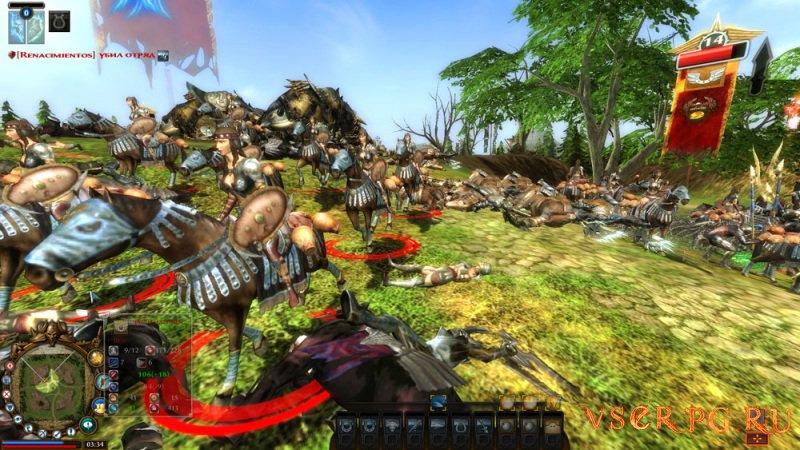 World of Battles screen 1