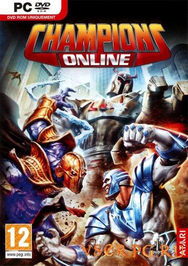 Постер игры Champions Online