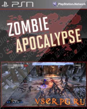 Постер игры Zombie Apocalypse