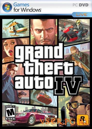 Постер игры GTA 4 PC
