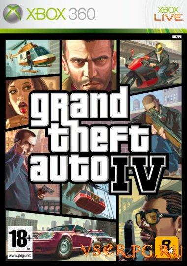 Постер игры GTA 4 [Xbox 360]