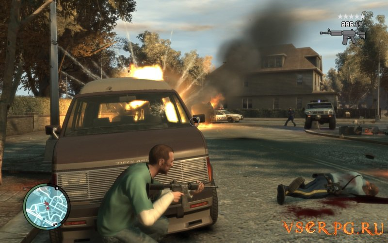 GTA 4 [Xbox 360] screen 2