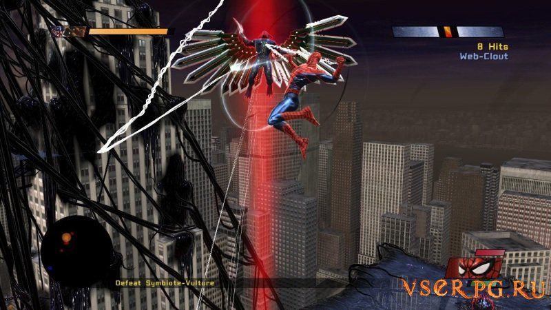 Spider-Man Web of Shadows screen 3
