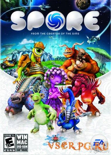 Постер игры Spore