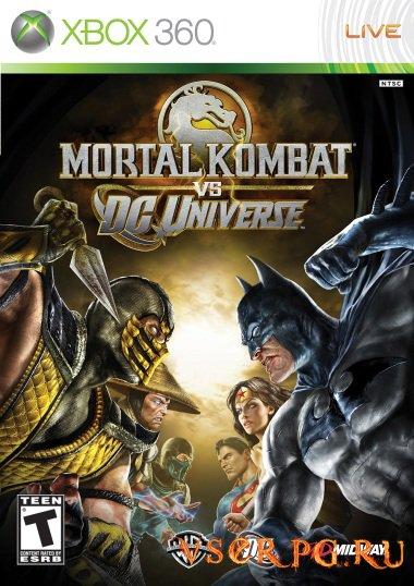 Постер игры Mortal Kombat vs DC Universe
