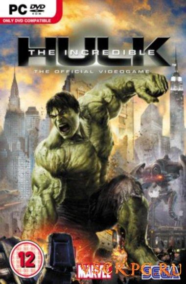 Постер игры The Incredible Hulk