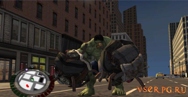 The Incredible Hulk screen 3