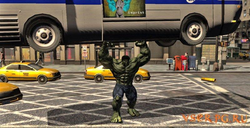 The Incredible Hulk screen 1