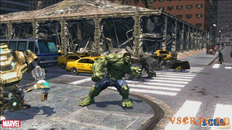 The Incredible Hulk screen 2