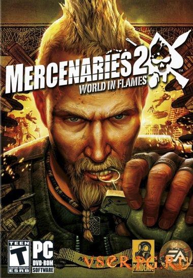 Постер игры Mercenaries 2