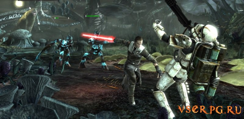 Star Wars: The Force Unleashed screen 3