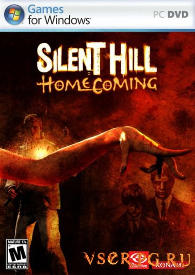 Постер игры Silent Hill Homecoming