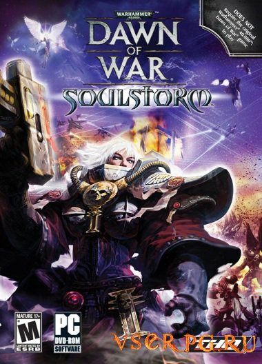 Постер игры Warhammer 40000: Dawn of War Soulstorm
