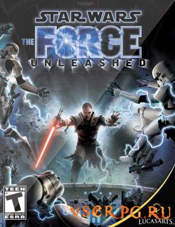 Постер Star Wars: The Force Unleashed