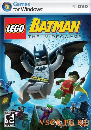 Постер игры Лего Бэтмен